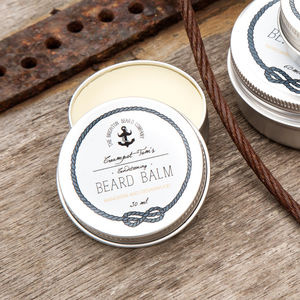 Creampot Tom's Beard Balm - men's grooming