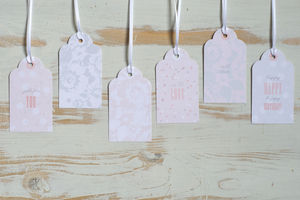 Luxury Pastel Gift Tags
