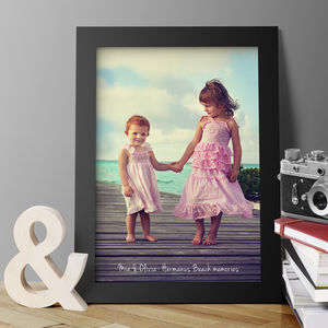 Personalised Framed Or Unframed Photo Print - baby's room