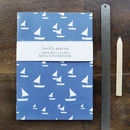 Sailboats Mini Notebook