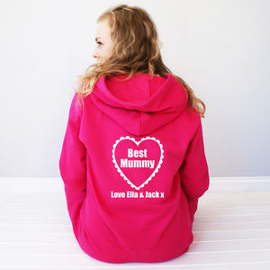 Personalised 'Best Mummy' Onesie - lounge & activewear