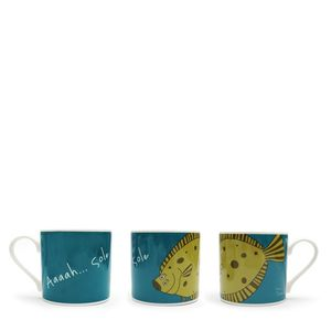 Aaah..Sole Big Mug - crockery & chinaware