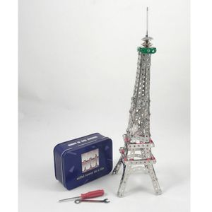Build Your Own Eiffel Tower In A Tin