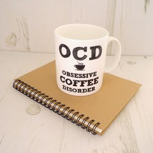 Bone China Coffee Cup For The Obsessive