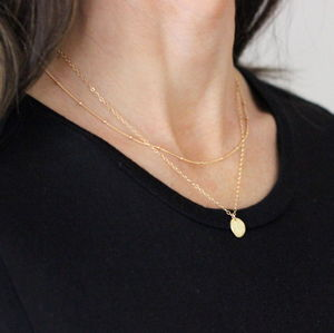 Gold Necklace Set - gifts under £100 for her
