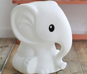 Elephant Nursery Lamp - children's lighting