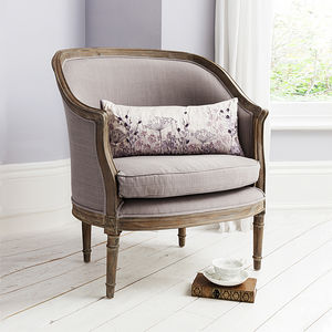 Elegant Tub Chair Grey