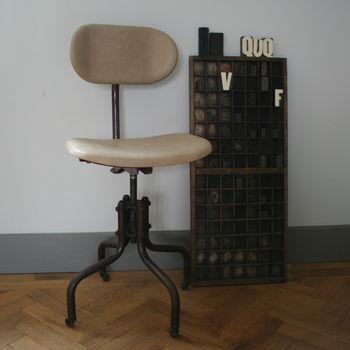 Vintage Machinist Chair