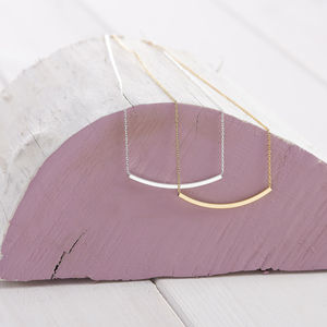 Sliding Bar Necklace - women's jewellery