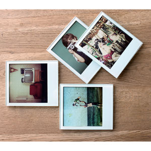 Personalised Instant Photo Coasters - placemats & coasters