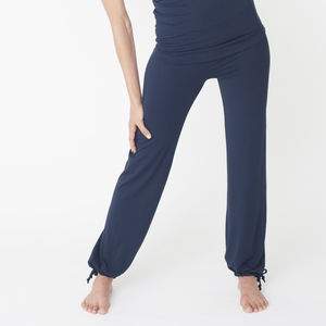 Bamboo Just Be Tie Pants - women's fashion