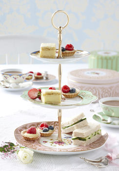 Regency Three Tier Ceramic Cake Stand