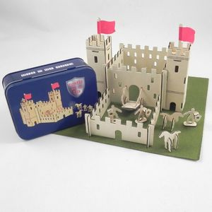 Build Your Own Castle In A Tin - toys & games