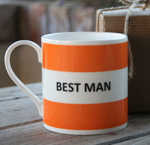'Best Man' Mug - tableware
