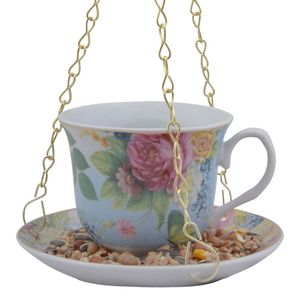 Bird Feeder / Chintz Floral Teacup - shop by price