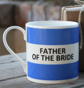 'Father Of The Bride' Mug