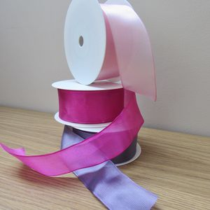 Luxury Wired Organza Ribbon One Metre - ribbon & bows