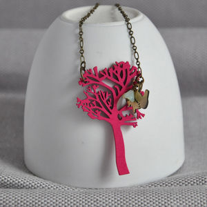 Irish Holly Tree Necklace - necklaces & pendants