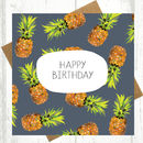 Happy Birthday Pineapple Card