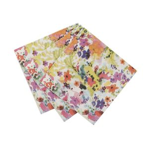 Floral Fiesta Amuse Bouche Napkins - dining room