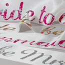 Personalised Bride To Be Liberty Print Sash