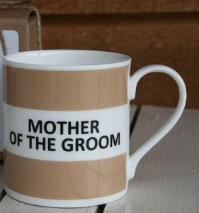 'Mother Of The Groom' Mug