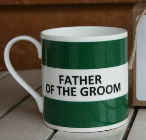 'Father Of The Groom' Mug