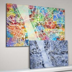 Liverpool Map Art Print - contemporary art