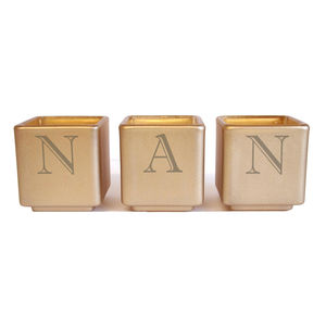 Nan Tealight Candle Holder Set