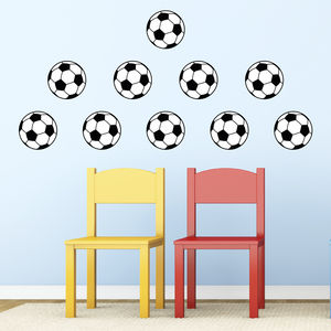Football Pack Wall Decals - children's room
