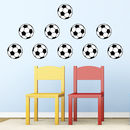 Football Pack Wall Decals