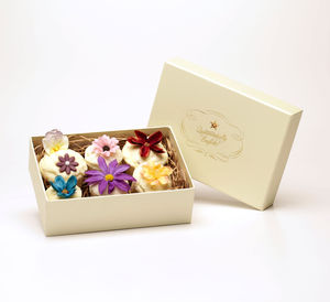 Six Cupcake Bath Melt Gift Box - washing & bathing