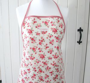 Personalised Oilcloth Apron - aprons