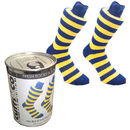 Tinned Cotton Stripy Men's Socks