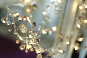 Crystal Fairy Lights - tree decorations