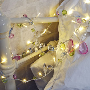 Jeweled Fairy Lights - fireplace accessories