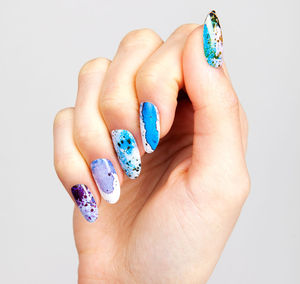 Rorschach Nail Wraps - 50 beauty must-buys