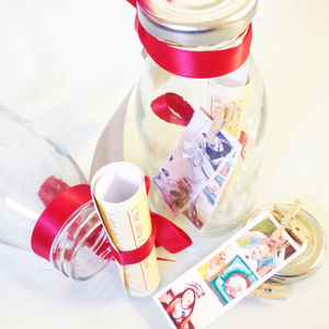 Personalised Photo Strip 'Message In A Bottle' - cards & wrap