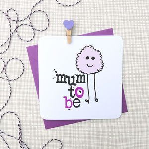 'Mum To Be' New Baby Card