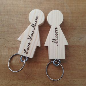 Mother's Day Mum Keyrings - womens