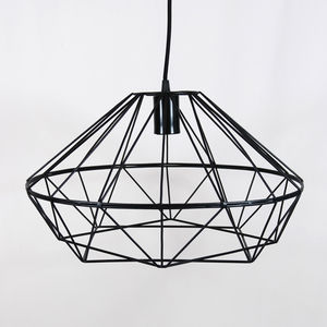 Faceted Pendant Lamp Shade