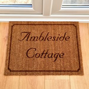 Personalised Doormat - rugs & doormats