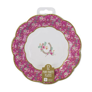 Pony Party Picnic Plates - children's parties