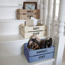 Personalised Small Storage Crate