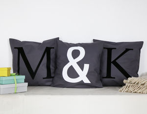 Initial Cushion Cover Set