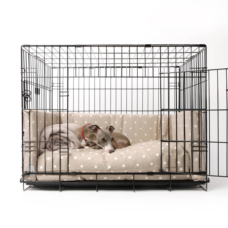 crate mattress and bed bumper set by charley chau With dog beds and crates