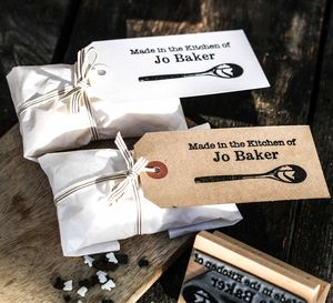 Kitchen Spoon Stamp - gifts for bakers