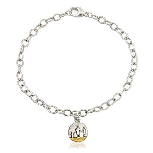 Little Me, You And Mum On The Beach Bracelet