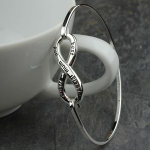 'Special Mum And Best Friend' Infinity Bangle