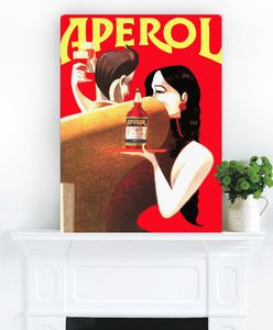 Aperol Spritz, Vintage Canvas Art - view all sale items